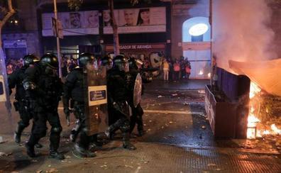 Directo   Cargas policiales en la sexta jornada de protestas en Cataluña