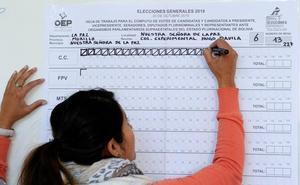 La OEA pide explicaciones por la interrupción del recuento de votos en Bolivia