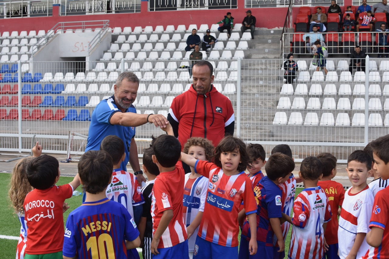Ángel Viadero, entrenador del Moghreb Athletic Tetouan