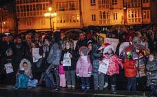 Cientos de personas reclaman un servicio de pediatría «digno» para Campoo