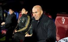 Zidane: «La primera parte de Hazard ha sido impresionante»