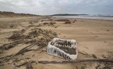 El temporal se ceba con las playas de Cantabria
