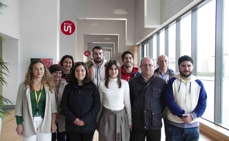 Visita de IES Estelas de Cantabria a su mentor de STARTinnova Smart Hospital Cantabria