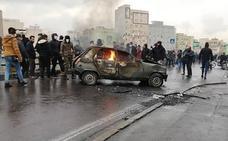 La subida de la gasolina incendia las calles de Irán
