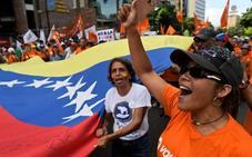 Guaidó moviliza a sus partidarios intentando encender la calle contra Maduro