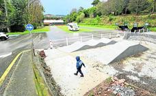 La nueva pista de skate de Comillas estará finalizada antes de final de año
