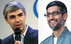 Los fundadores de Google abandonan la empresa