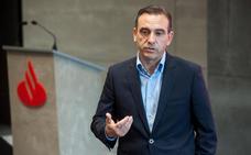 Manuel Iturbe, nuevo director territorial de Banco Santander en Cantabria y Asturias