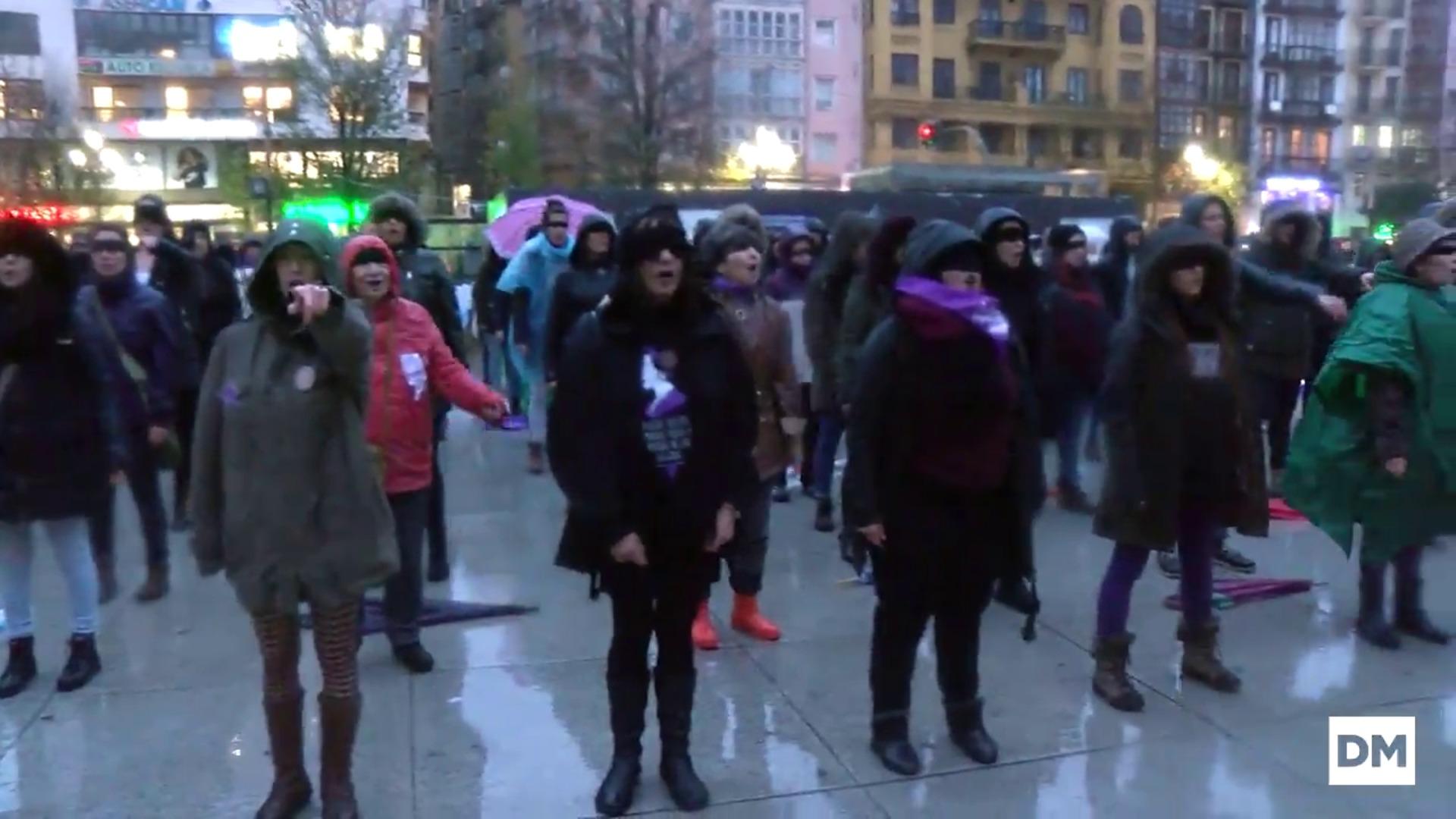 'Un violador en tu camino ' llega a Santander