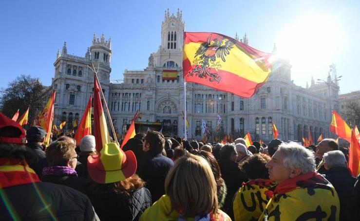 Movilización de Vox por las calles de España