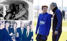 Tres cántabros para tres mitos del Barça