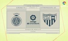 Vídeo-resumen del Girona-Extremadura