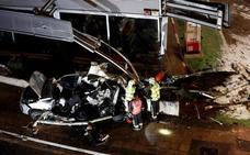 Un autobús sin frenos causa la muerte de dos hermanos, de 8 y 5 años, en Estella