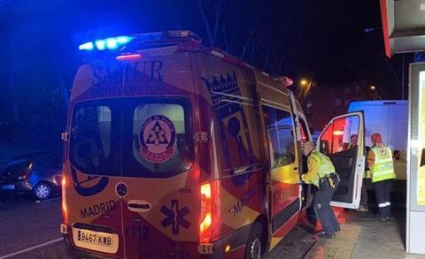 Muere un joven tras sufrir varias heridas por arma blanca en Madrid