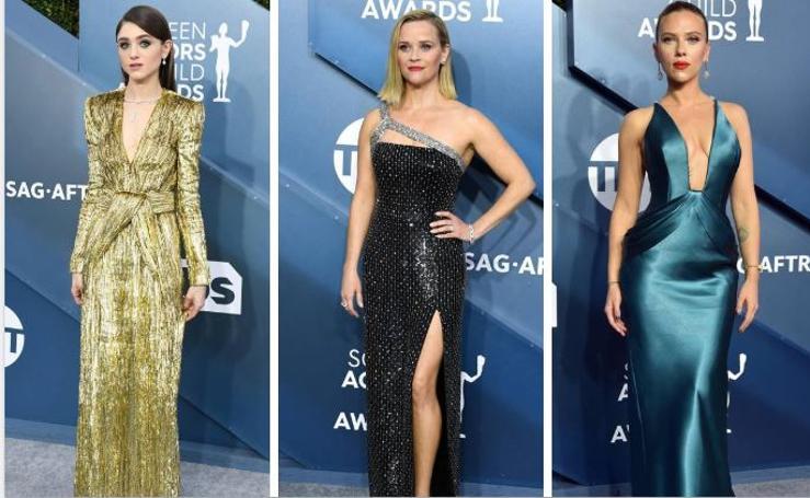 Los looks favoritos de los Premios SAG elegidos por Carolina Brunelli