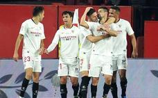 El Sevilla se afianza en la zona Champions ante un inofensivo Granada