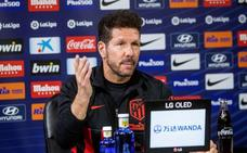 Simeone: «Me ocupa mi vida el Atlético»