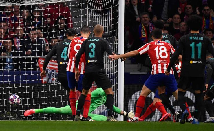 Las mejores imágenes del Atlético-Liverpool