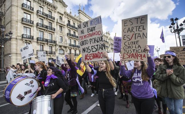 Las Asambleas Feministas de Cantabria llaman a la huelga de cuidados y de consumo el 8M