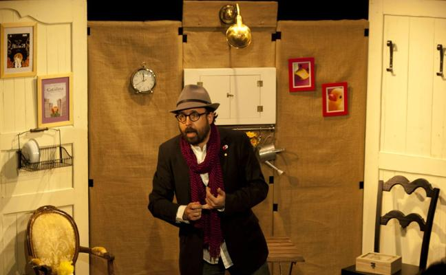 David Acera trae a Escena Miriñaque una casa llena de cuentos