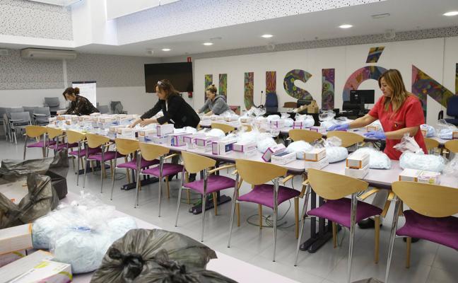 Repartidas 13.000 mascarillas entre los centros para personas mayores y con discapacidad de Cantabria