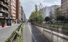 Un paseo por un Santander en cuarentena