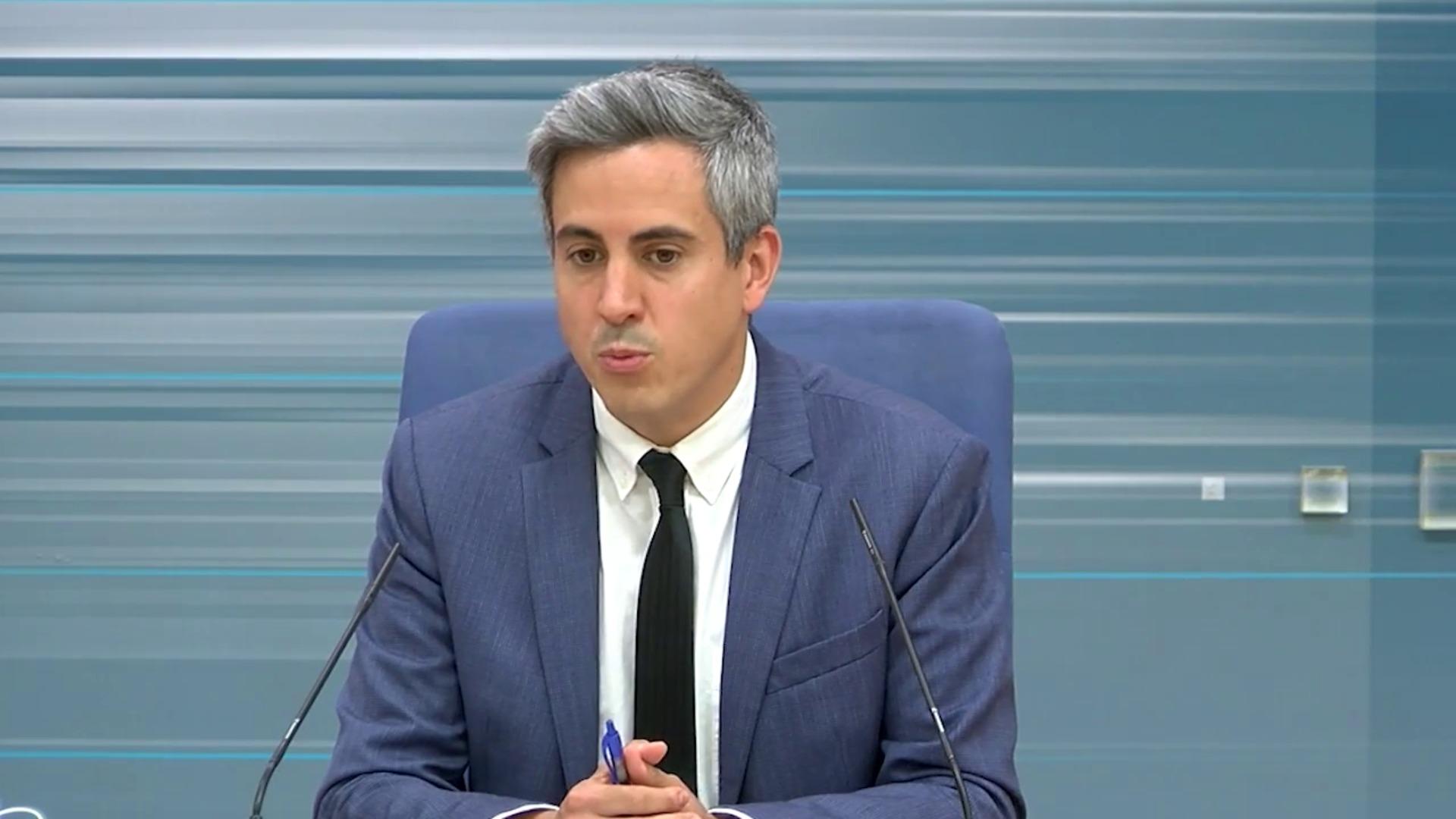 Pablo Zuloaga explica los acuerdos del Consejo de Gobierno