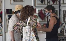 Inaugurada la Feria de artesanía de Santander