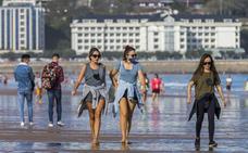 Un mes noviembre caluroso y atípico en Cantabria