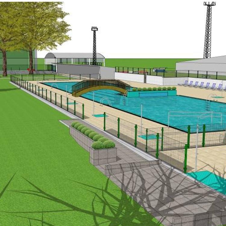 Aprobada en pleno la financiación de la reforma de las piscinas municipales de Los Corrales