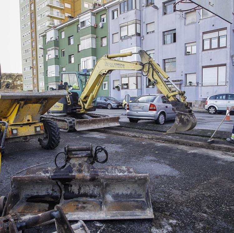 Comienza la mejora de los accesos al Barrio Covadonga tras años de espera