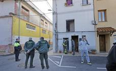 Incendio en una vivienda del barrio La Pesa, en Cabezón de la Sal