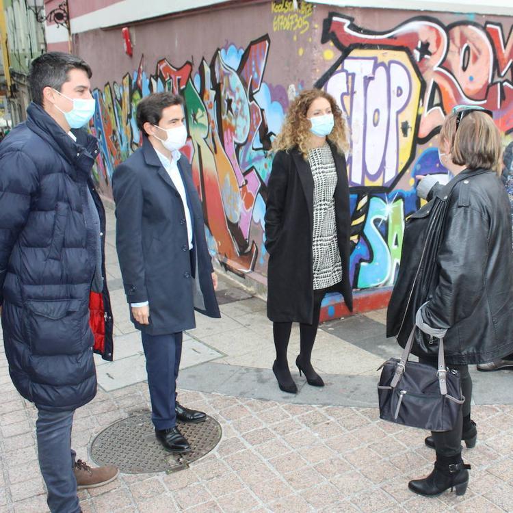 La delegada del Gobierno, sobre el Cabildo: «Hay ayudas del plan de vivienda nacional para renovar zonas urbanas degradadas»