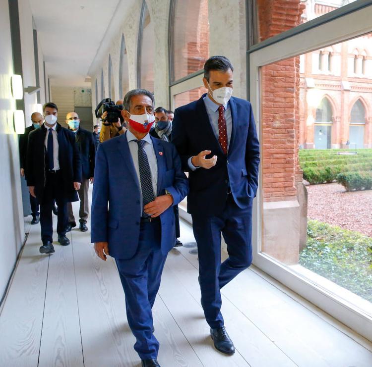 Sánchez avala La Pasiega, el Mupac y el polo industrial alrededor de Valdecilla para que opten a fondos europeos