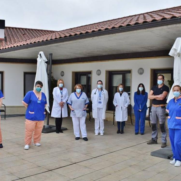 Vacunados los mayores y trabajadores de la residencia de San Felices