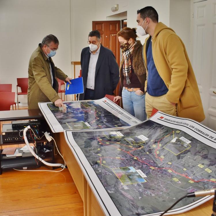 Los Corrales aplica una veintena de medidas para mejorar la seguridad vial