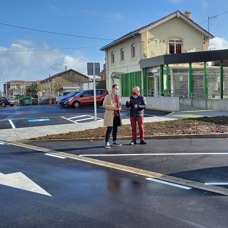 El centro urbano de Bezana gana 100 nuevas plazas de aparcamiento