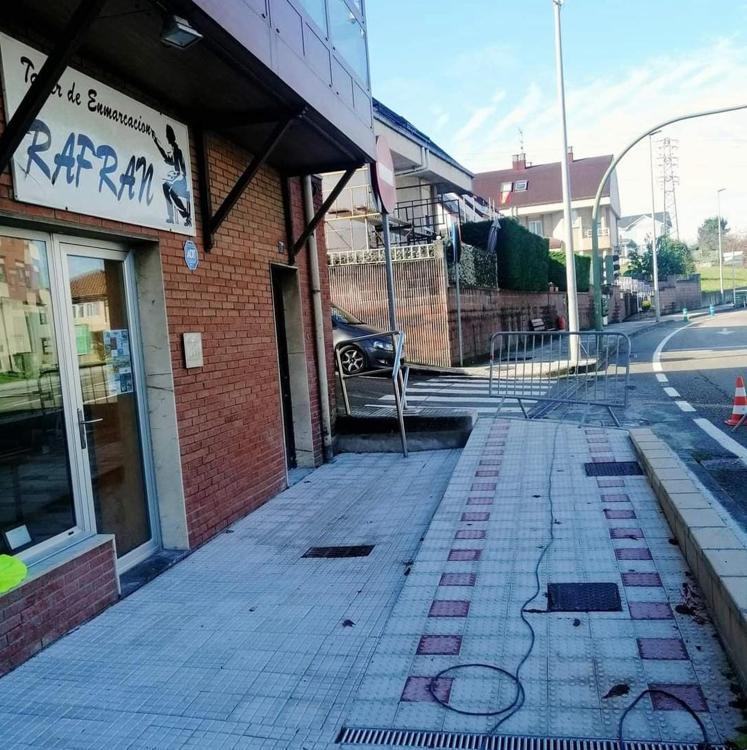 'Astillero sin barreras' mejorará la accesibilidad en las calles