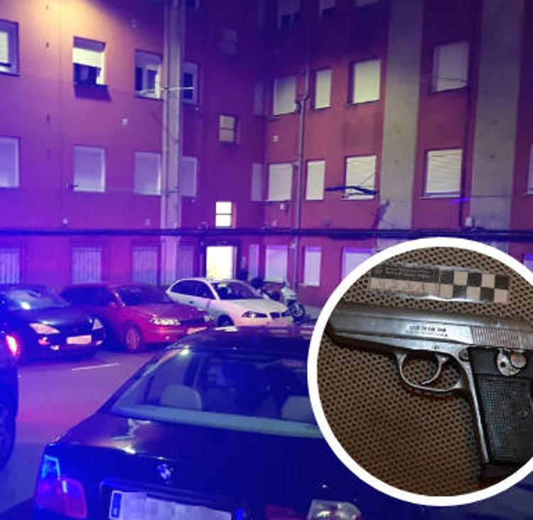 Prisión para un hombre acusado de disparar a otro tras una discusión en Santander