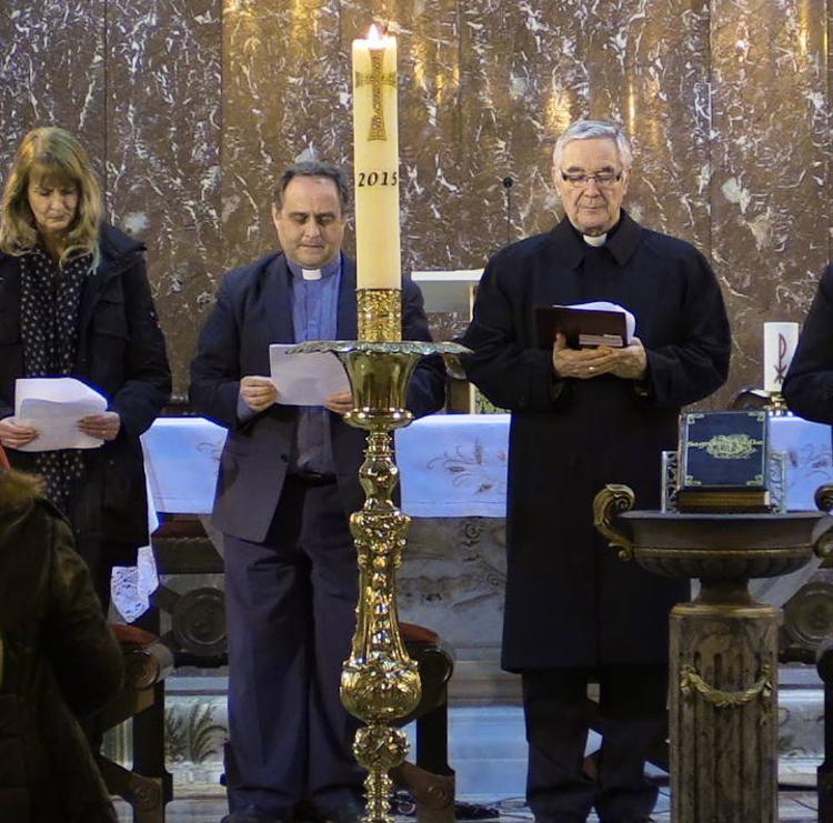 Católicos y protestantes celebran este miércoles un culto en la iglesia Nueva Vida de Peñacastillo