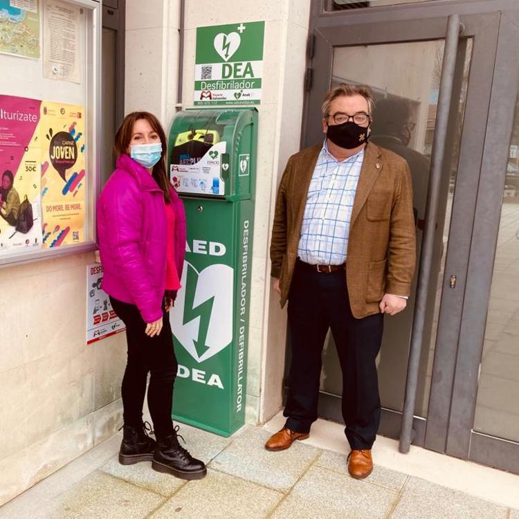 Noja se convierte en un municipio cardioprotegido