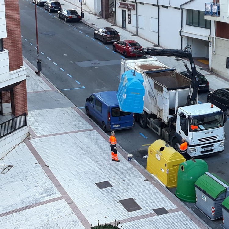 Castro pone orden a la recogida de residuos