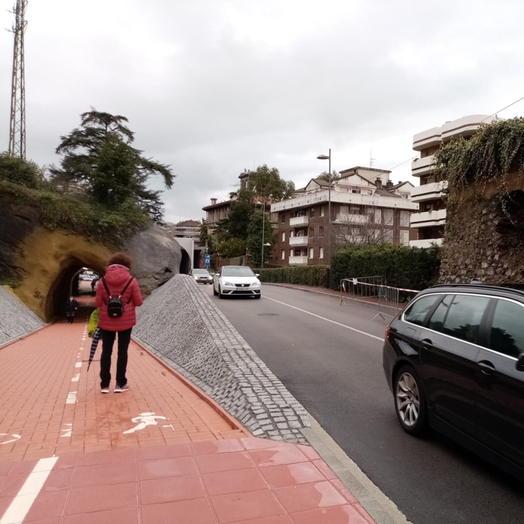 Podemos Castro critica «el deterioro» de los túneles de Ocharan un año después de su inauguración