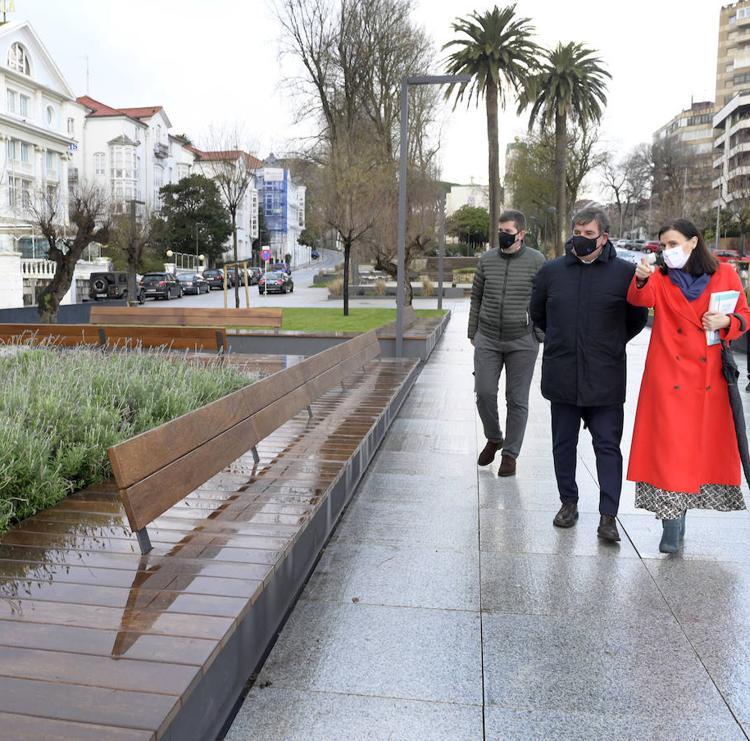 La renovada Plaza de Italia gana 2.000 metros para el peatón y queda conectada con los Jardines de San Roque