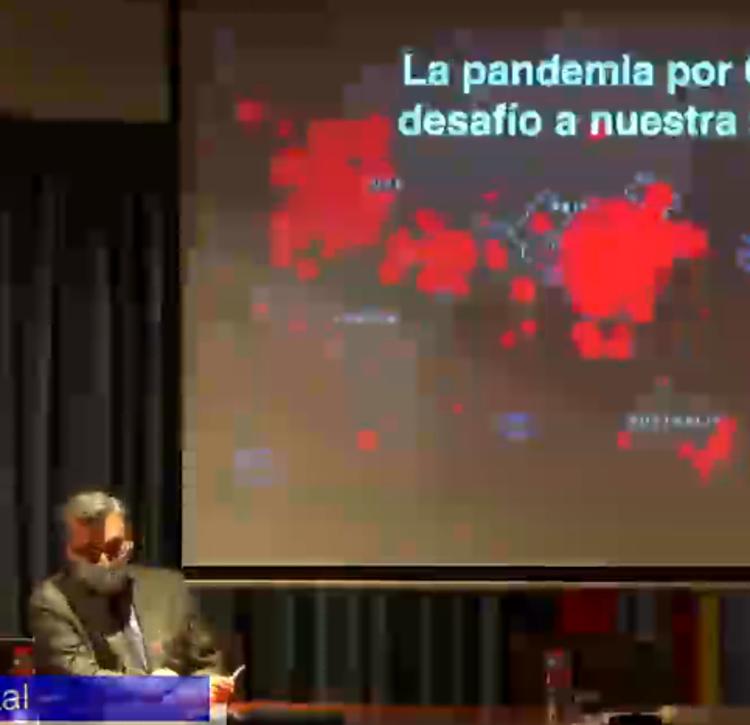 Directo: Jesús Artal habla en el Ateneo sobre el desafío de la pandemia para la salud mental