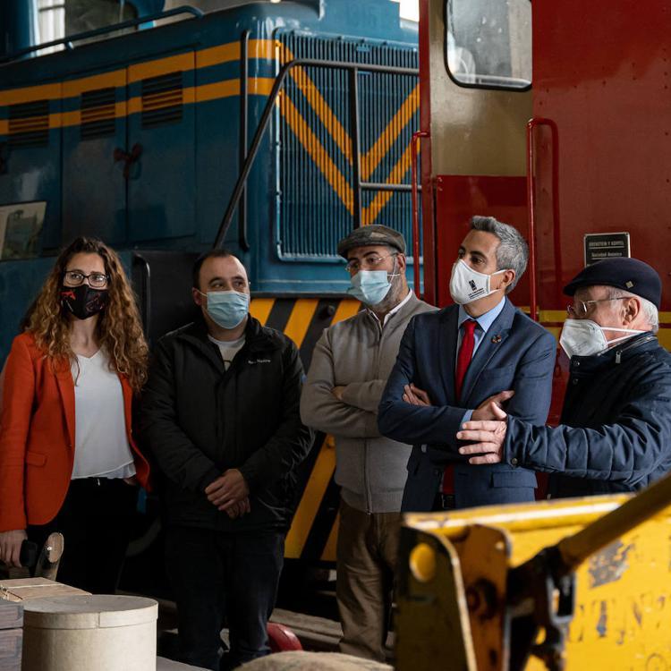 Cantabria incluirá en su Inventario de Patrimonio Cultural los doce vehículos del Museo del Ferrocarril