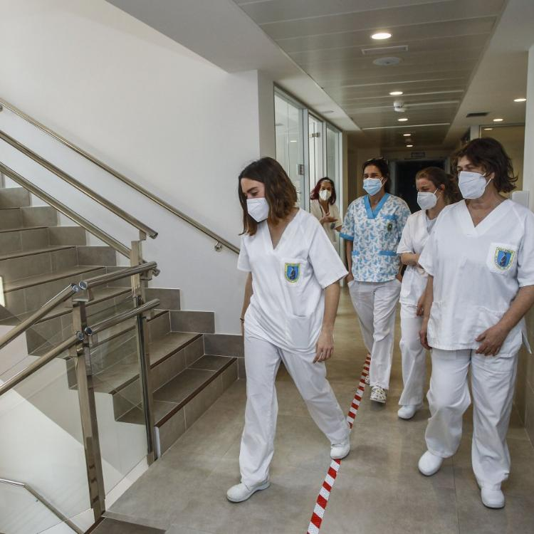 El centro covid de Suances se cierra tras siete meses intensos y 460 pacientes