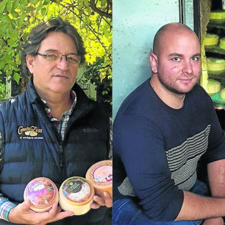 Dos cántabros triunfan por la calidad de sus quesos en Extremadura y Asturias