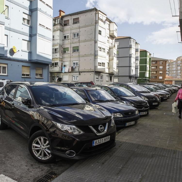 La urbanización del Barrio Covadonga supondrá la pérdida de aparcamientos