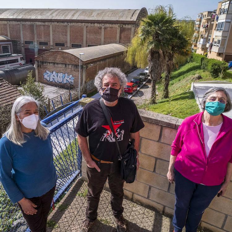 Preocupación en el barrio Sixto Obrador ante la limpieza de vagones con bioetanol